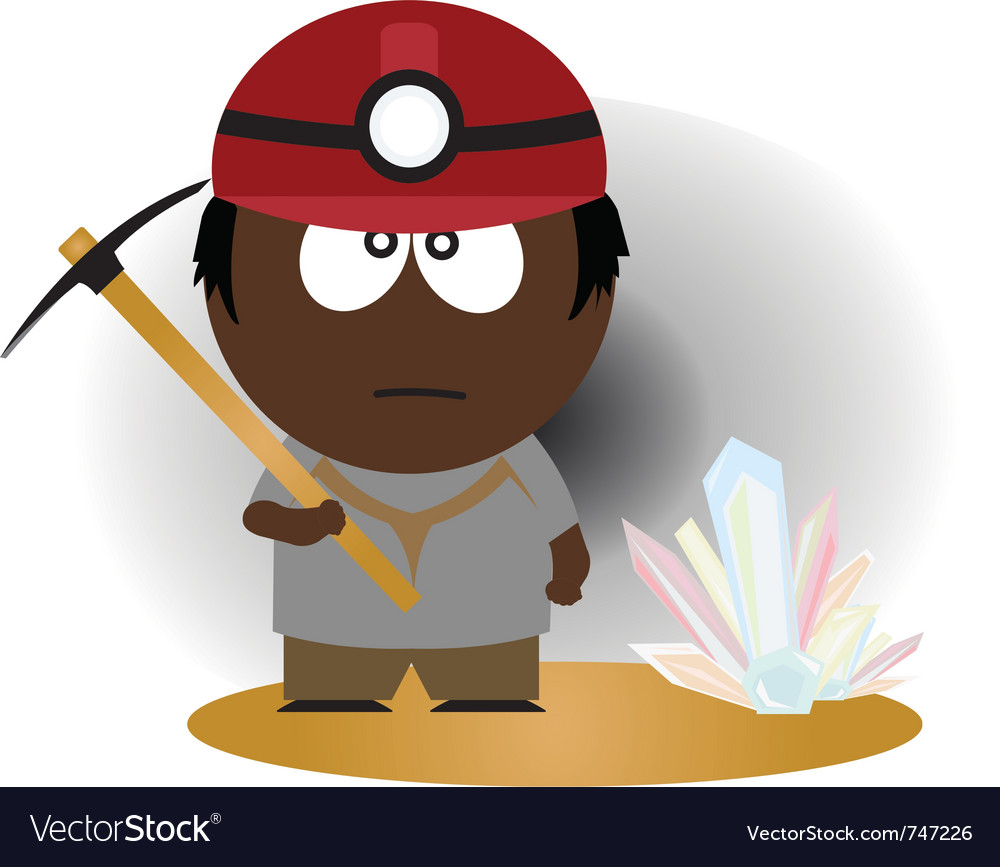 Miner vector | Price: 1 Credit (USD $1)