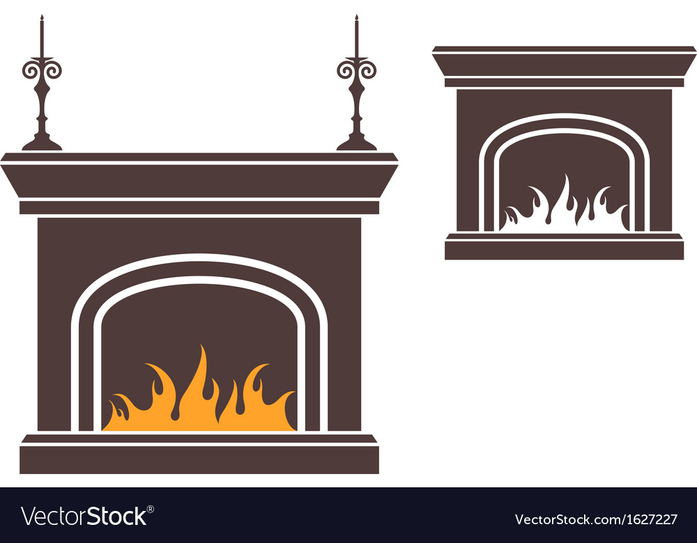 Fireplace vector | Price: 1 Credit (USD $1)