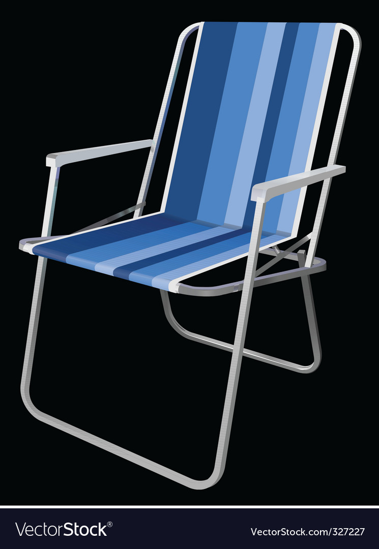 Picnic chair vector | Price: 1 Credit (USD $1)