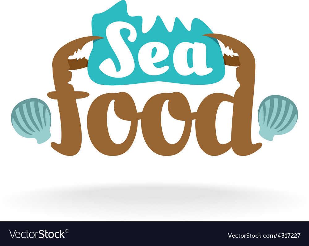 Seafood logo vector | Price: 1 Credit (USD $1)