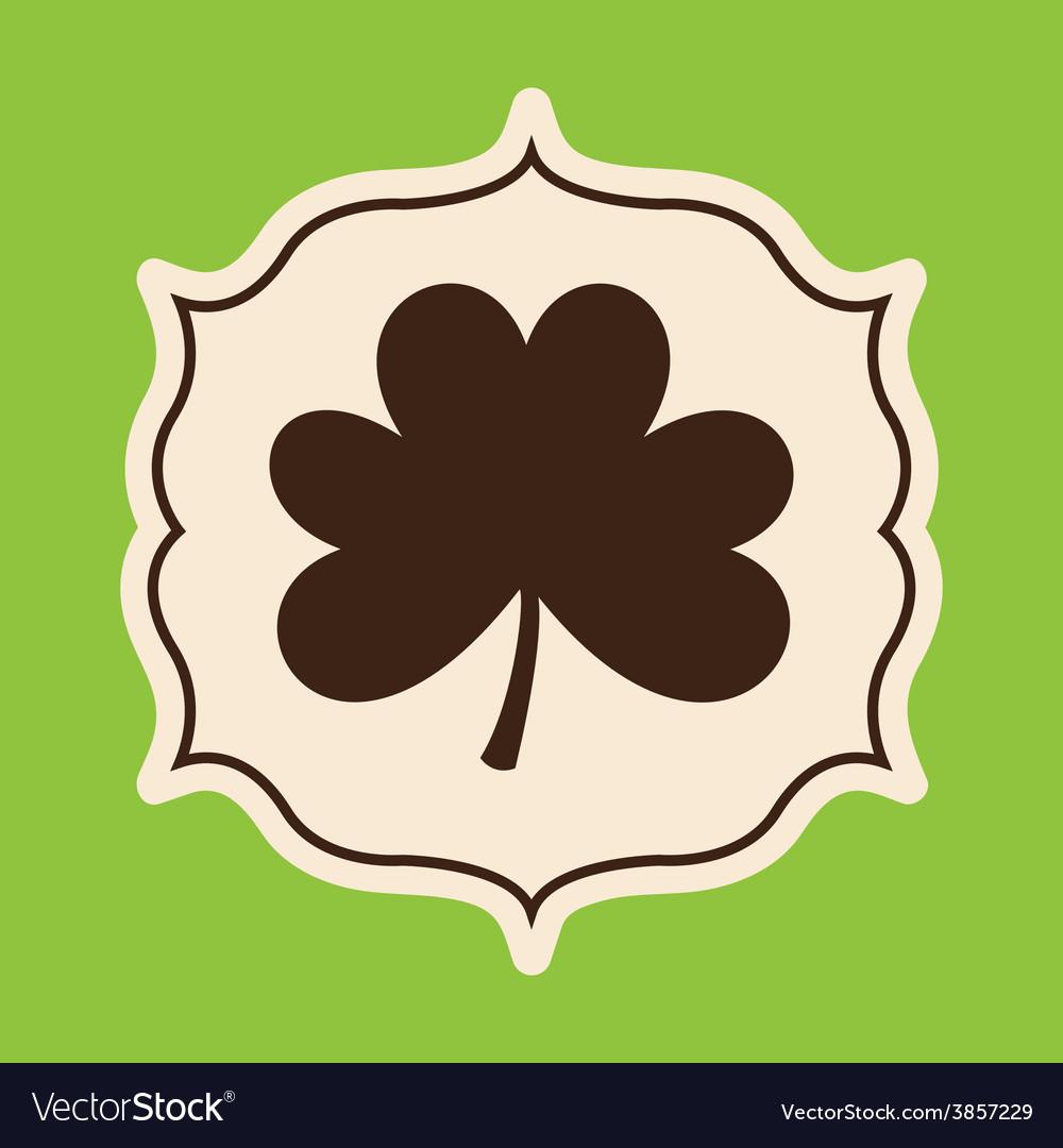 Clover leaf design vector   Price: 1 Credit (USD $1)