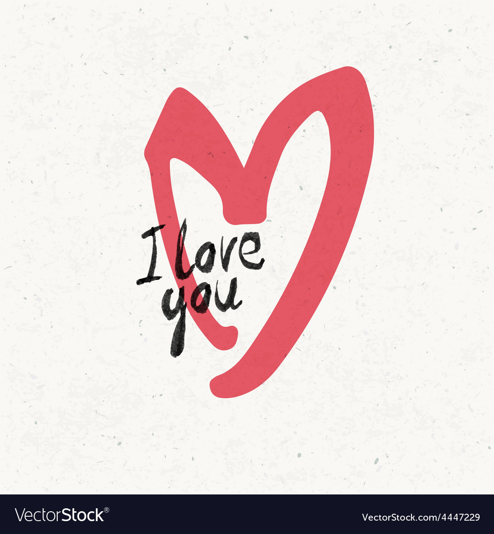 I love you vector   Price: 1 Credit (USD $1)