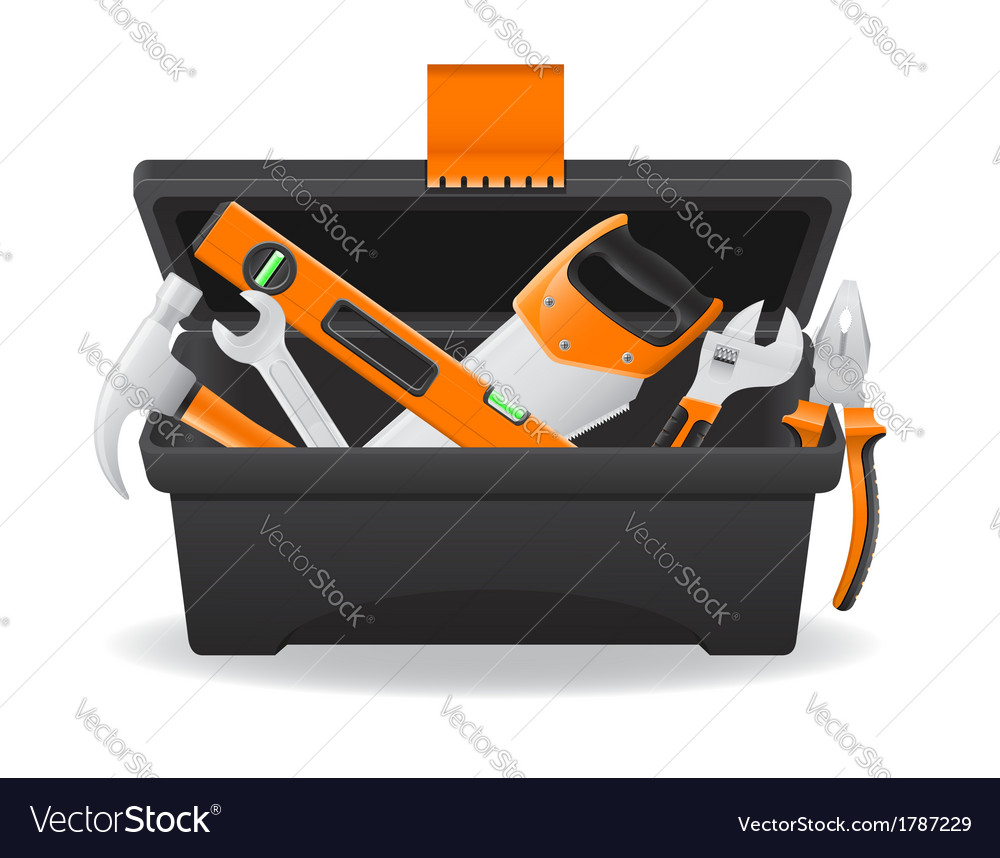 Tool box 05 vector | Price: 1 Credit (USD $1)