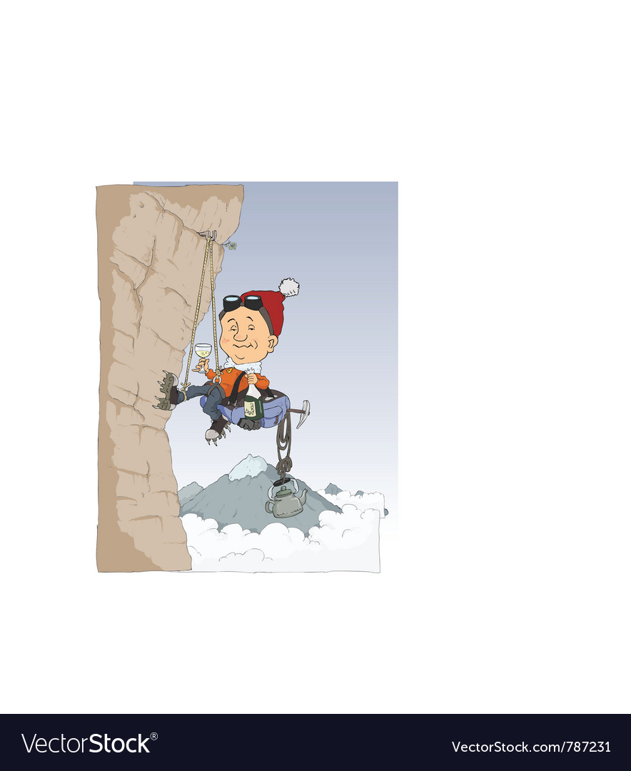 Climber vector | Price: 3 Credit (USD $3)