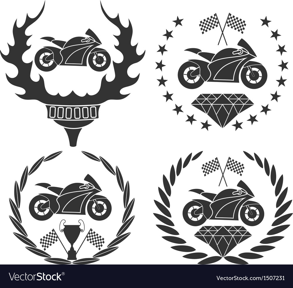 Motorcycle sports vector | Price: 3 Credit (USD $3)