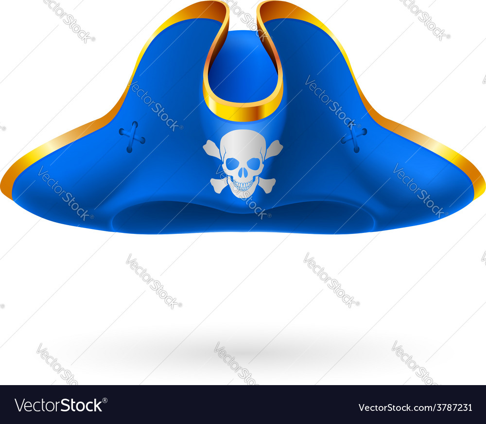 Pirate cocked hat vector | Price: 1 Credit (USD $1)