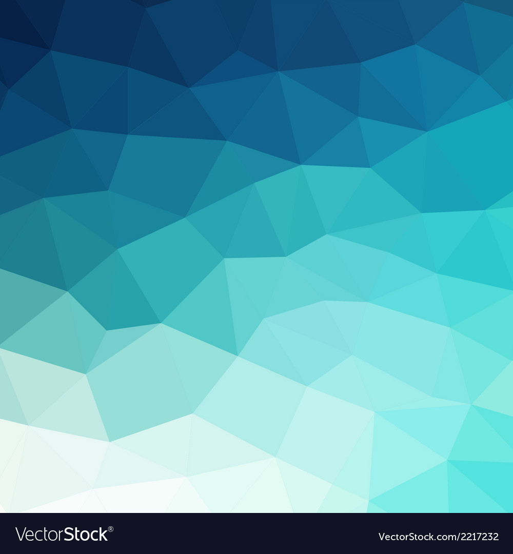 Abstract blue colorful geometric background vector | Price: 1 Credit (USD $1)