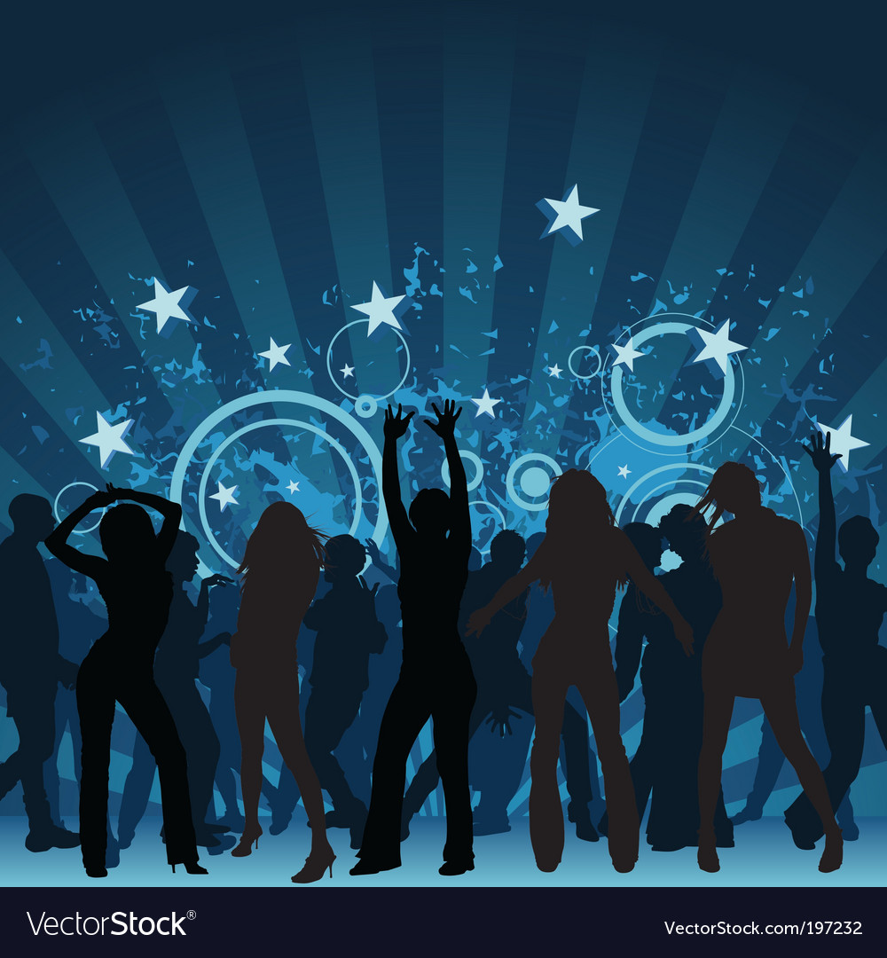 Clubbing vector | Price: 1 Credit (USD $1)