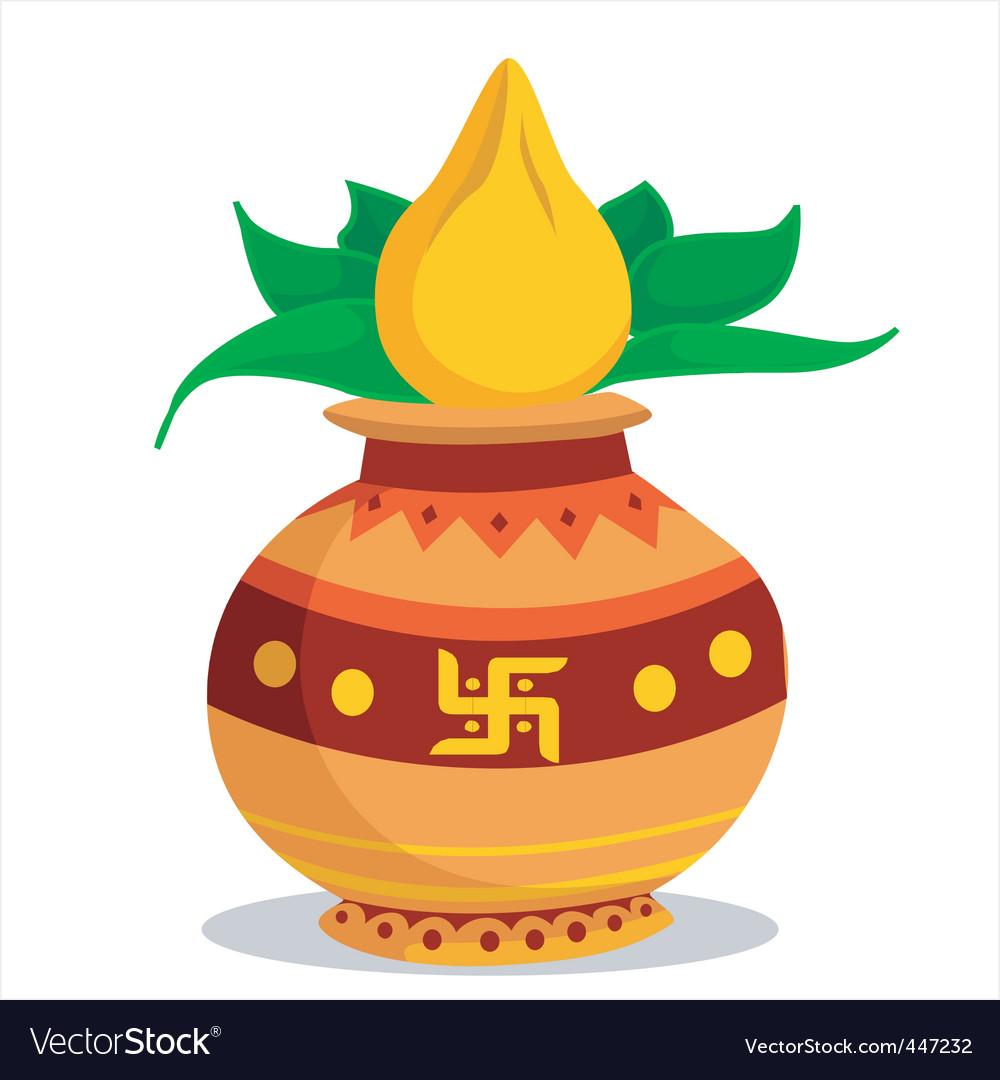 Divine pot vector | Price: 1 Credit (USD $1)