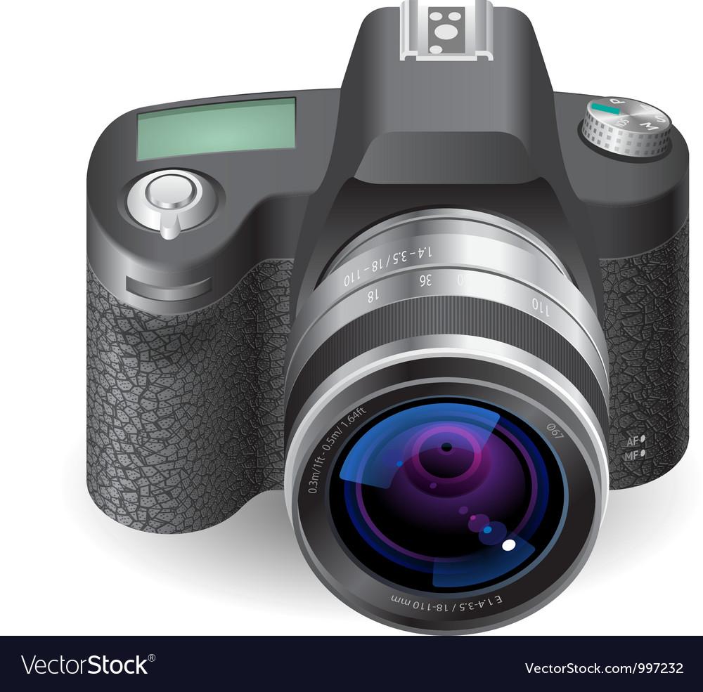 Icon for slr camera vector | Price: 3 Credit (USD $3)
