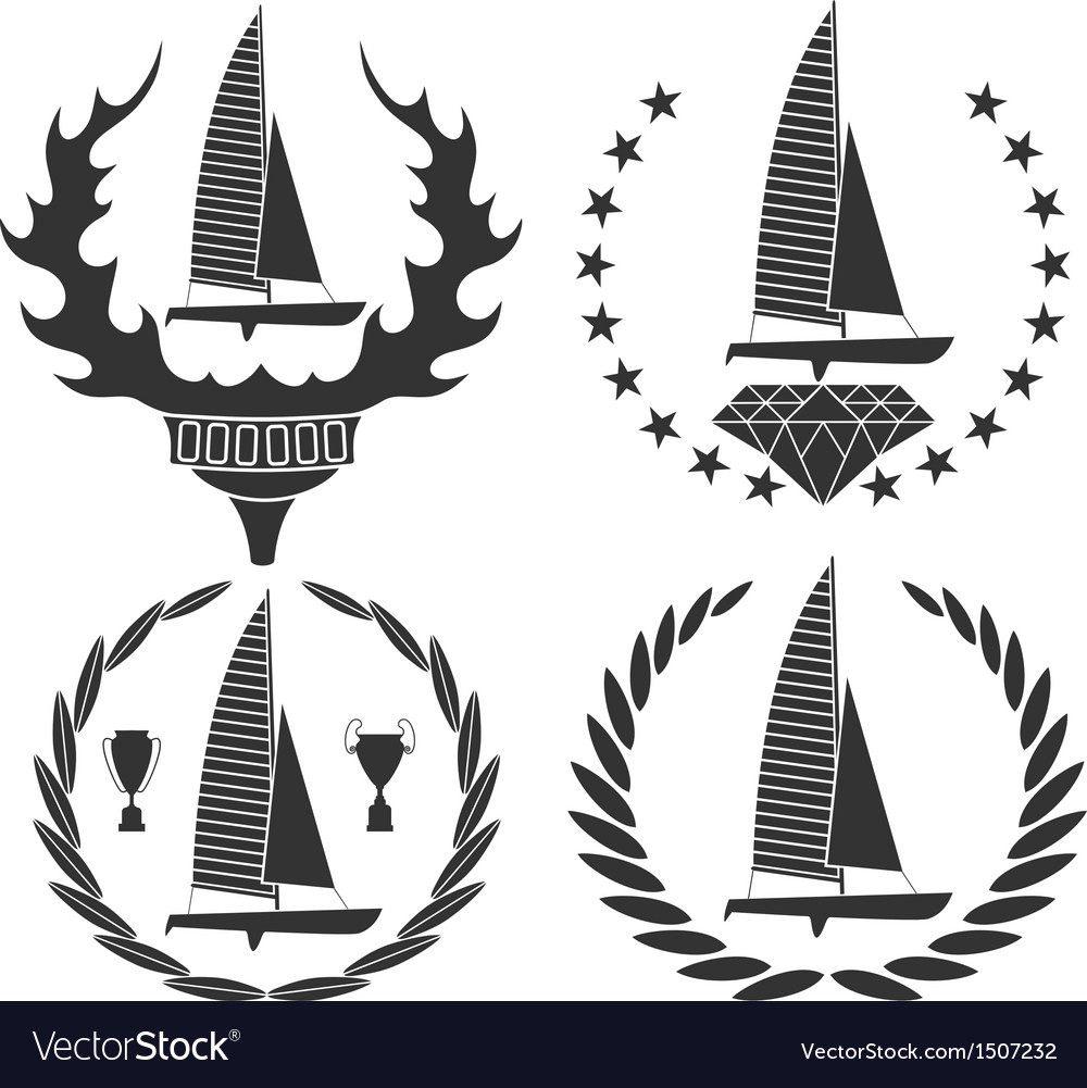 Sailing vector | Price: 3 Credit (USD $3)