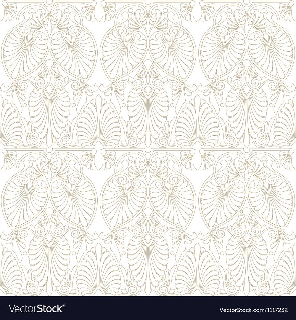 Seamless greek art nouveau pattern vector | Price: 1 Credit (USD $1)