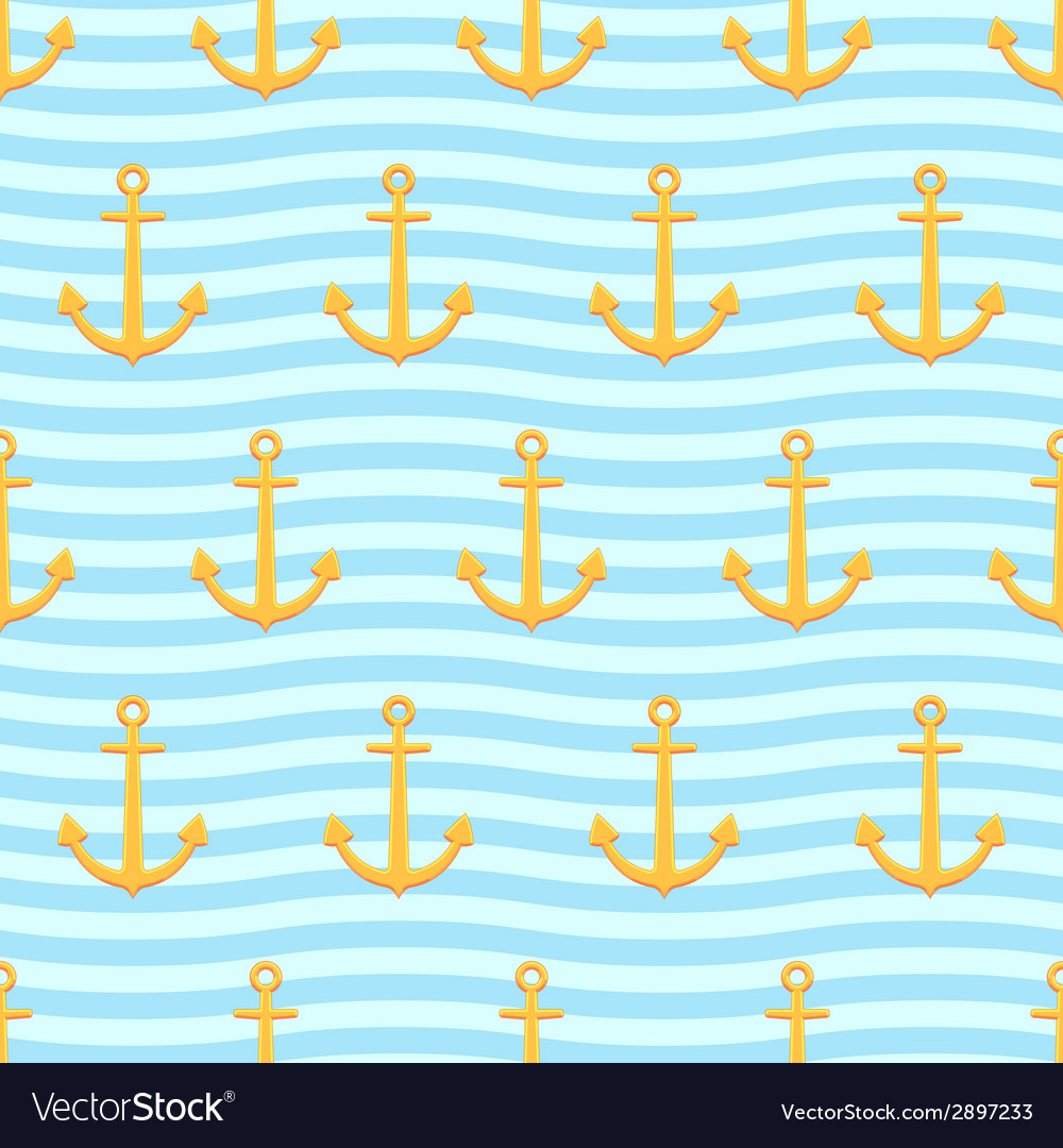 Anchors pattern vector | Price: 1 Credit (USD $1)
