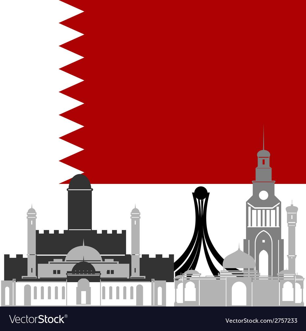 Bahrain vector | Price: 1 Credit (USD $1)