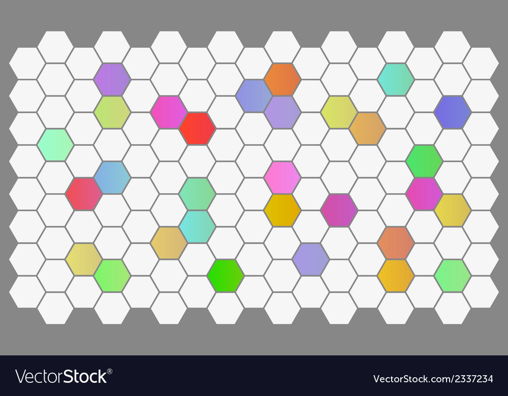 Background with hexagons vector | Price: 1 Credit (USD $1)