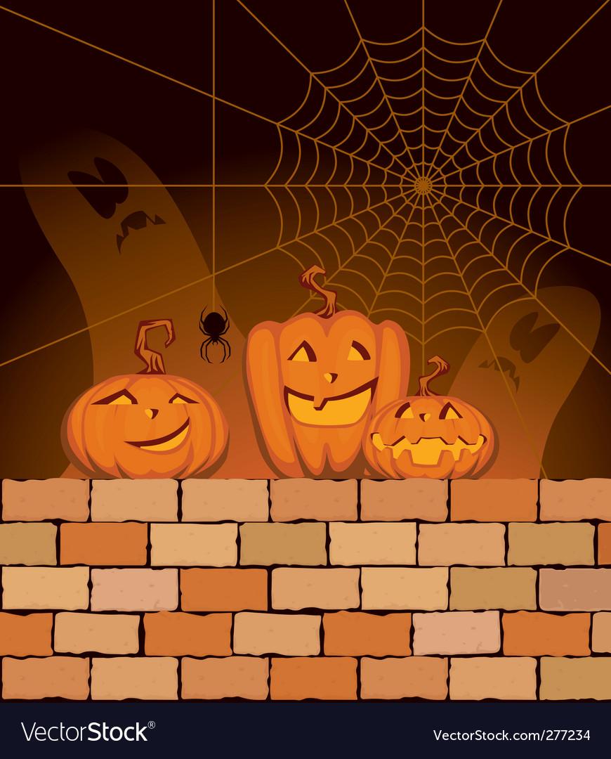 Halloween night vector | Price: 1 Credit (USD $1)