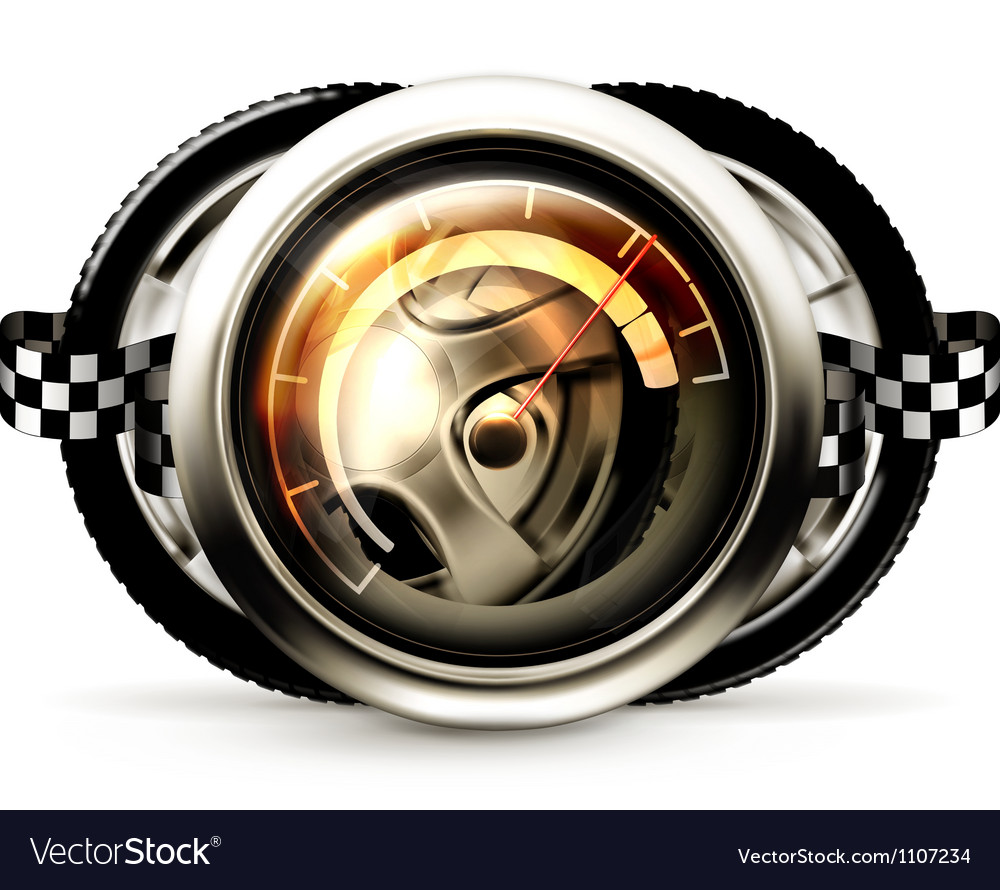 Racing banner vector | Price: 3 Credit (USD $3)