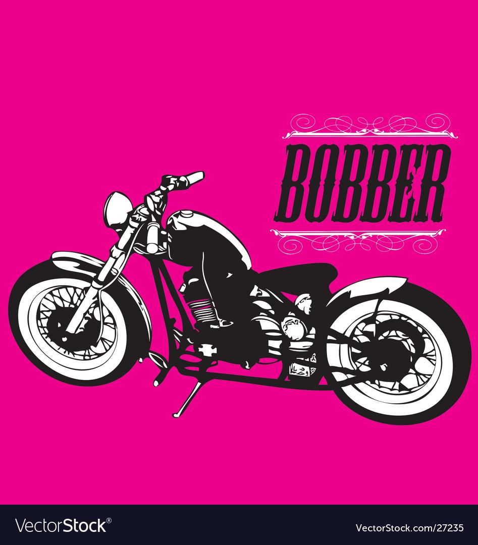 Bobber chopper vector | Price: 1 Credit (USD $1)