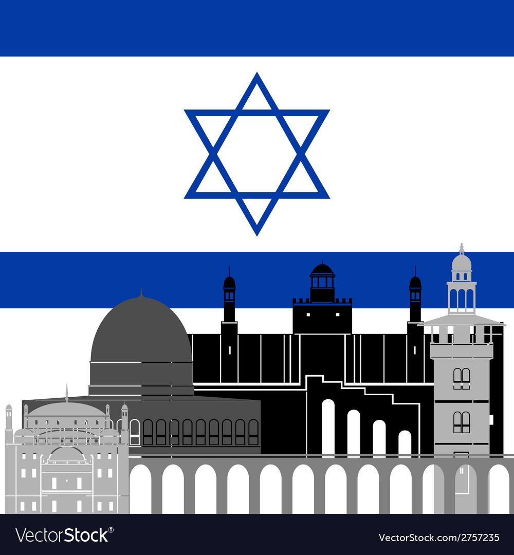 Israel vector | Price: 1 Credit (USD $1)