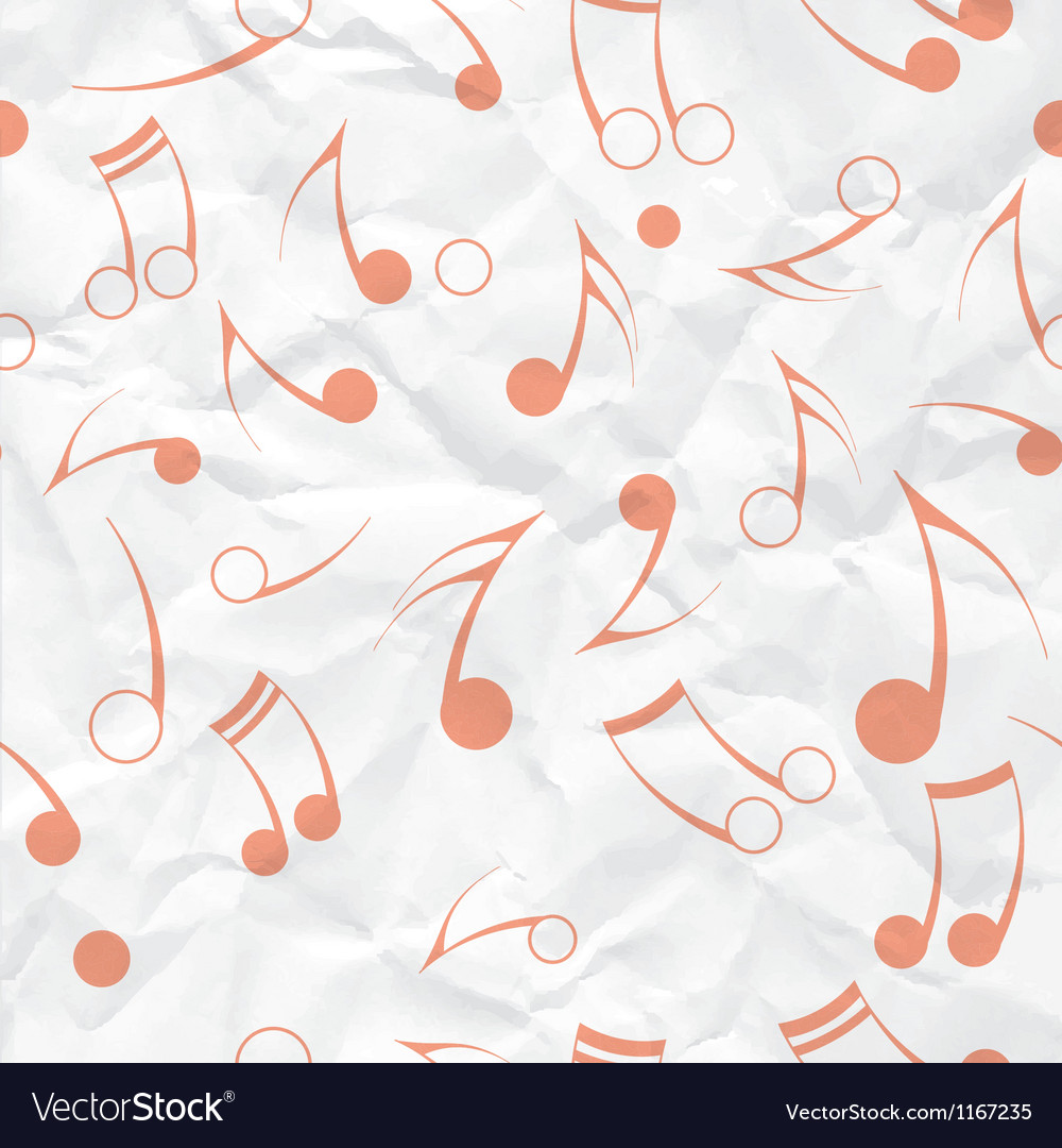 Music note paper texture vector | Price: 1 Credit (USD $1)