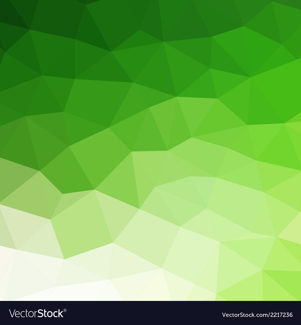 Abstract green colorful geometric background vector | Price: 1 Credit (USD $1)