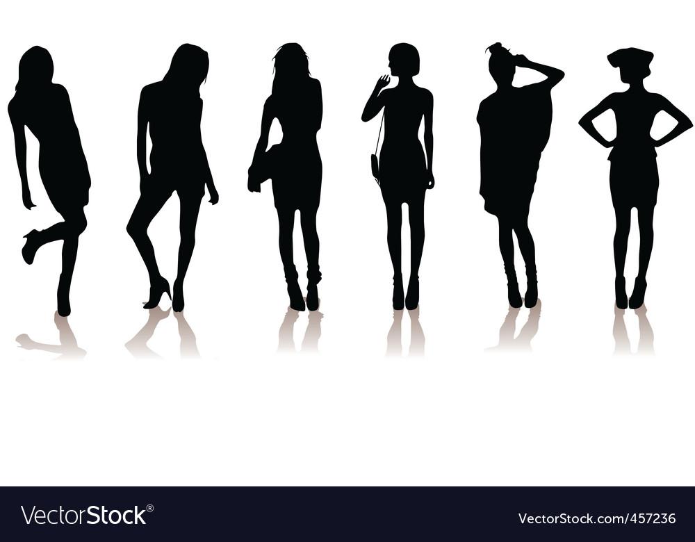 Fashion models vector | Price: 1 Credit (USD $1)