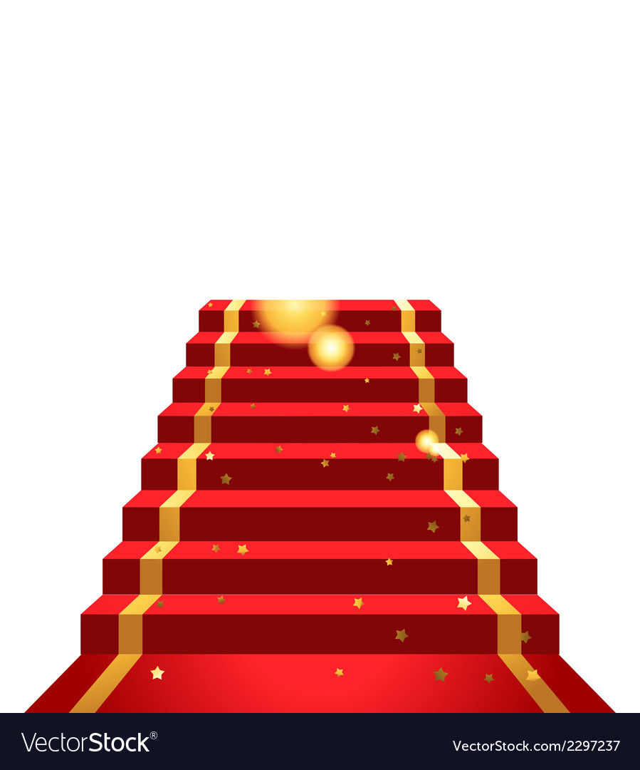 On the red carpet vector | Price: 1 Credit (USD $1)