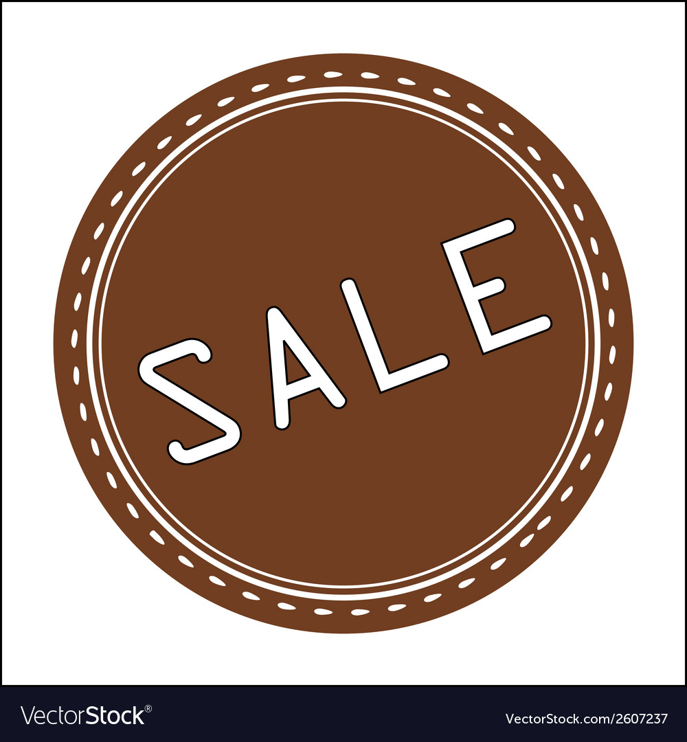 Sale icon badge label or sticke vector | Price: 1 Credit (USD $1)