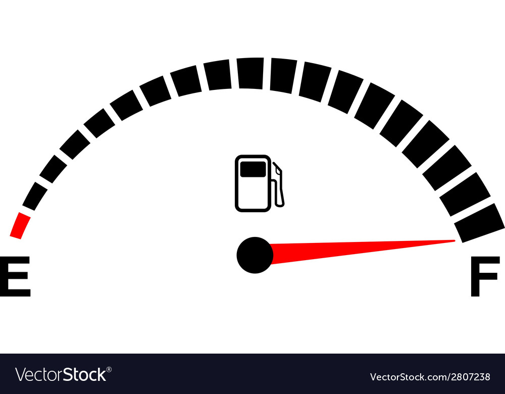Fuel gage full vector | Price: 1 Credit (USD $1)