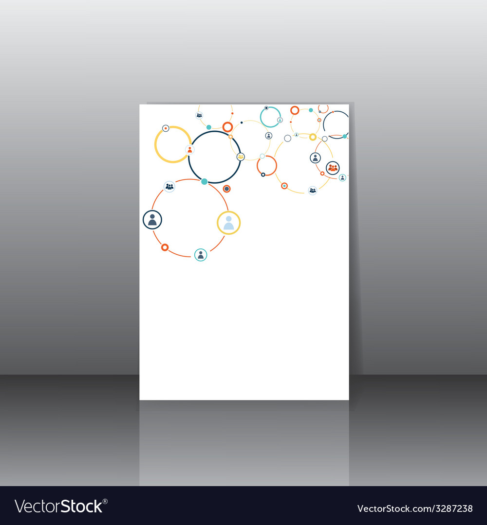 Human concept on the card vector | Price: 1 Credit (USD $1)