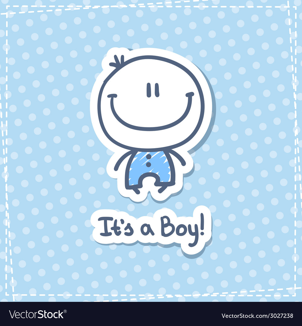 Its a boy vector | Price: 1 Credit (USD $1)