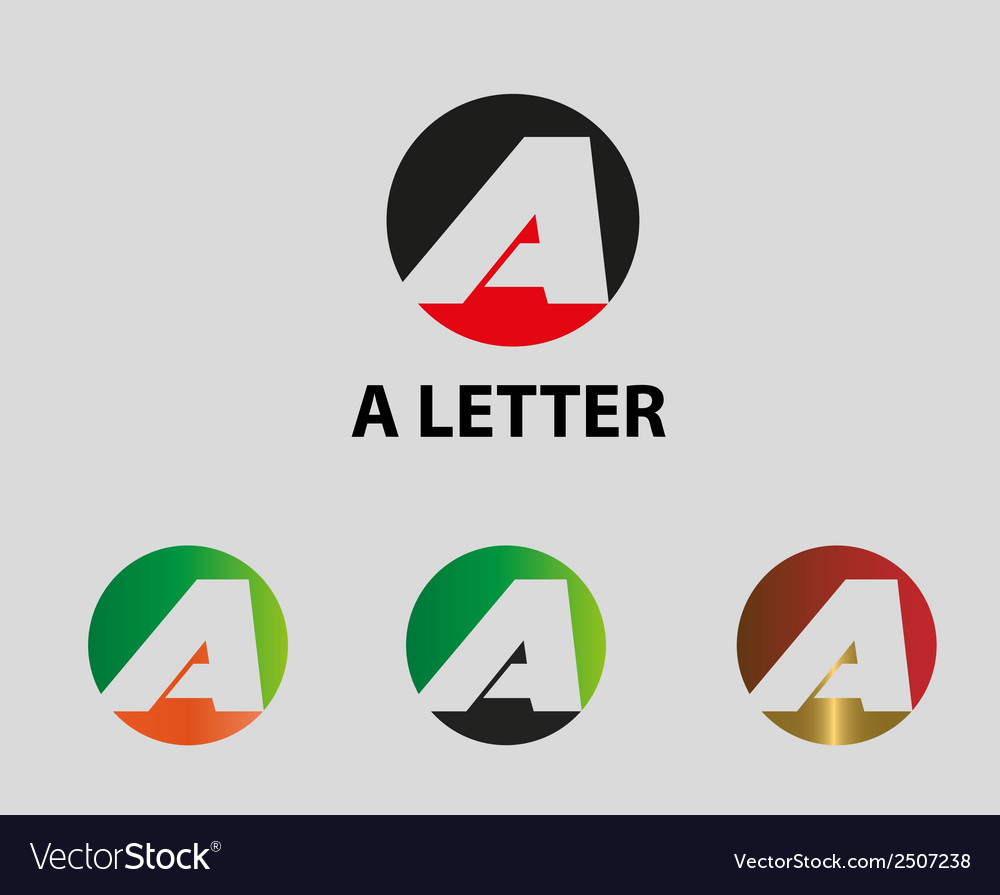 Letter a icon of abstract icon vector | Price: 1 Credit (USD $1)