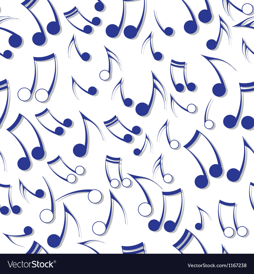 Music note sound texture vector | Price: 1 Credit (USD $1)