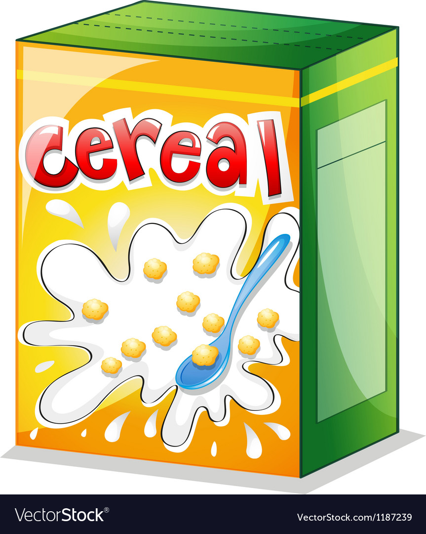 A cereal vector | Price: 1 Credit (USD $1)