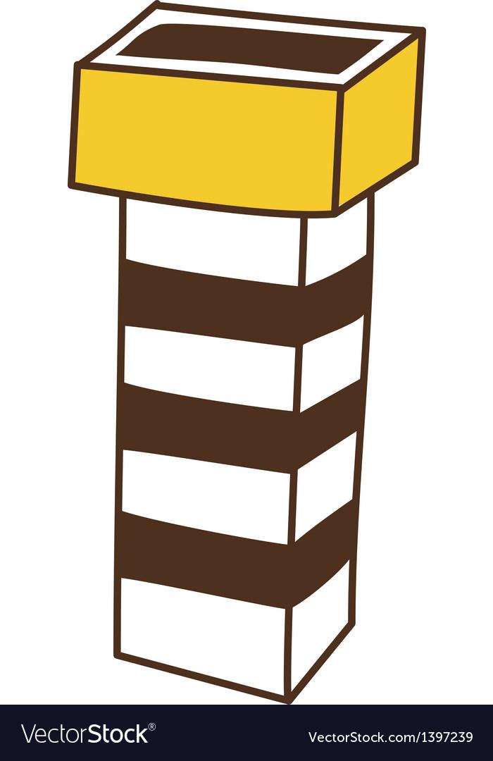A chimney vector | Price: 1 Credit (USD $1)