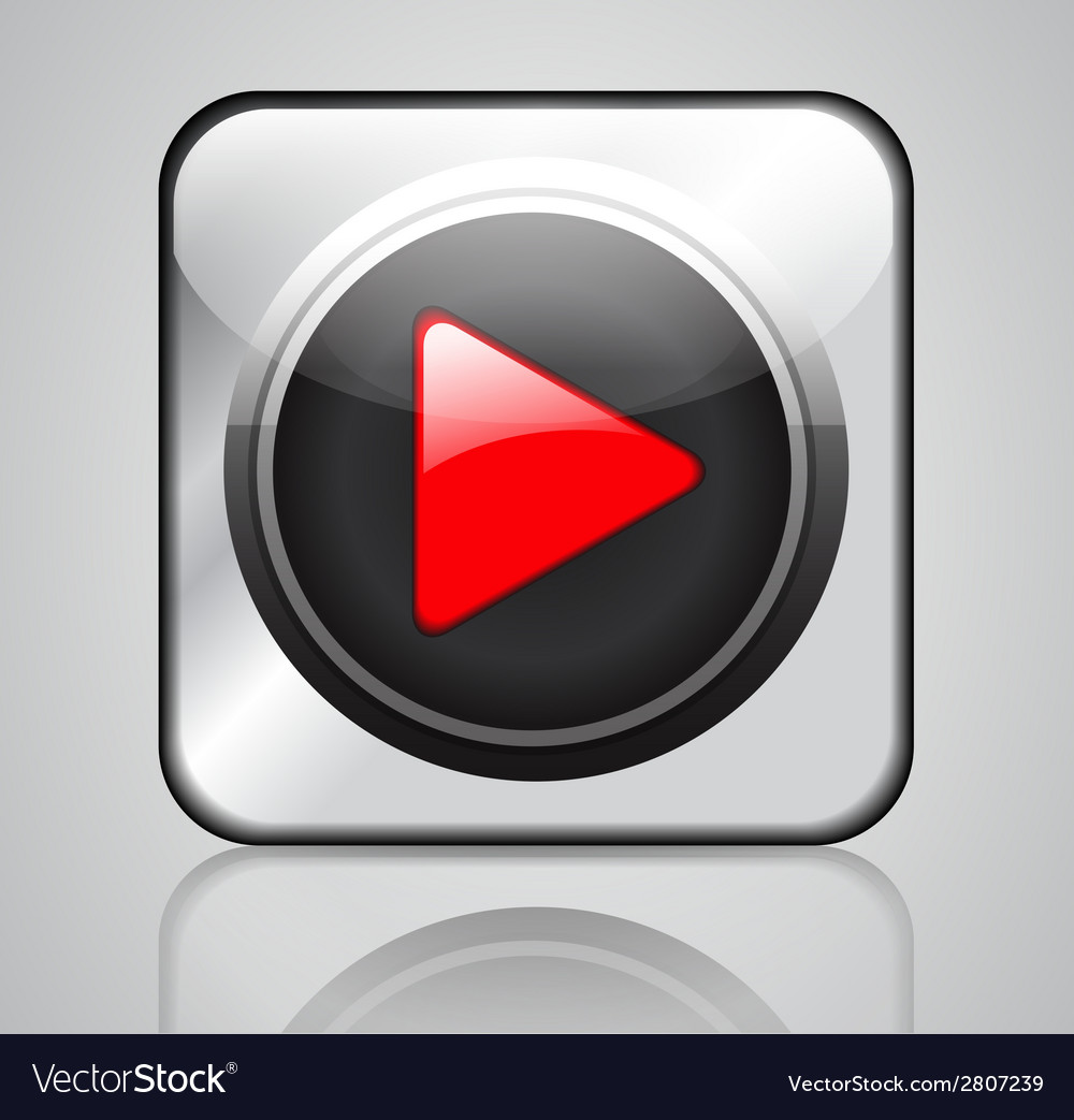 App media player vector | Price: 1 Credit (USD $1)