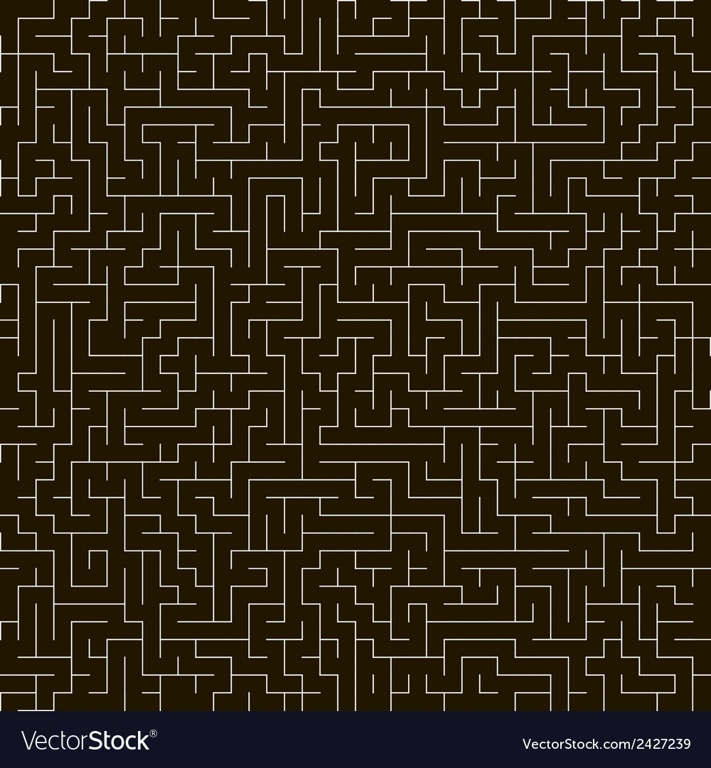 Maze seamless background vector | Price: 1 Credit (USD $1)