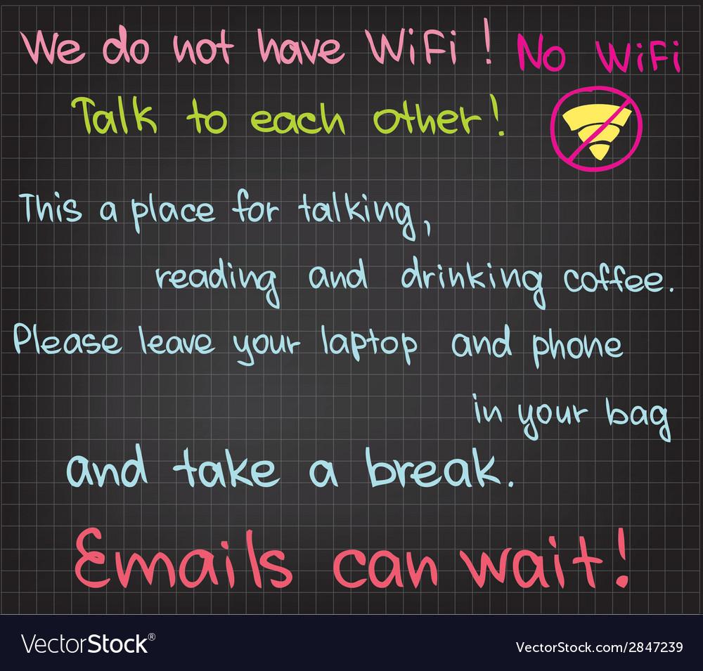 No wifi vector | Price: 1 Credit (USD $1)