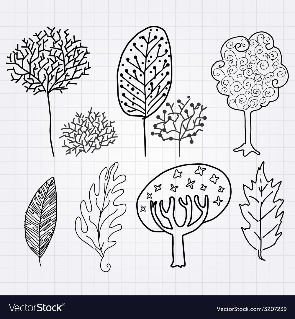 Treeleaf vector | Price: 1 Credit (USD $1)