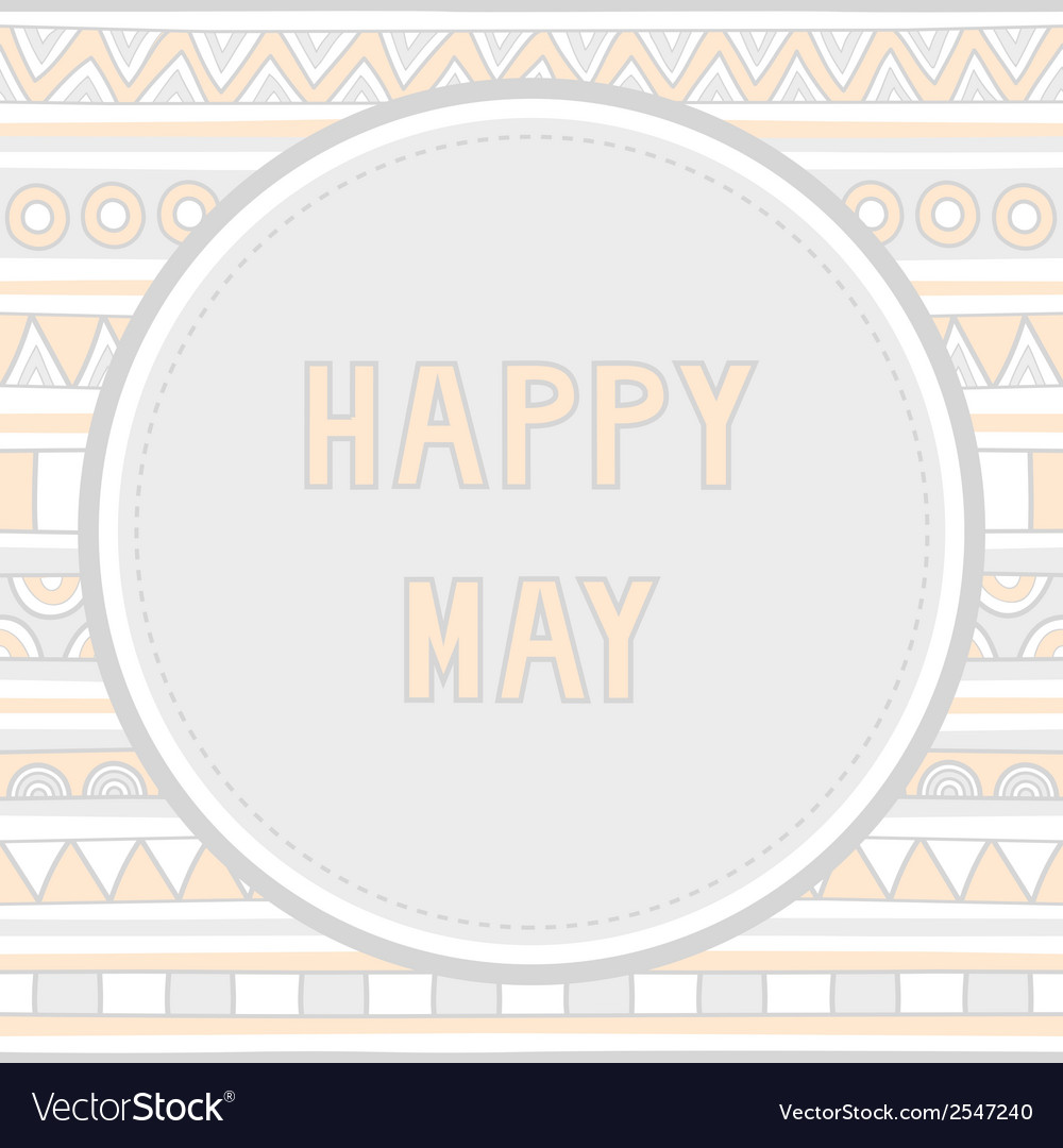 Happy may background1 vector   Price: 1 Credit (USD $1)
