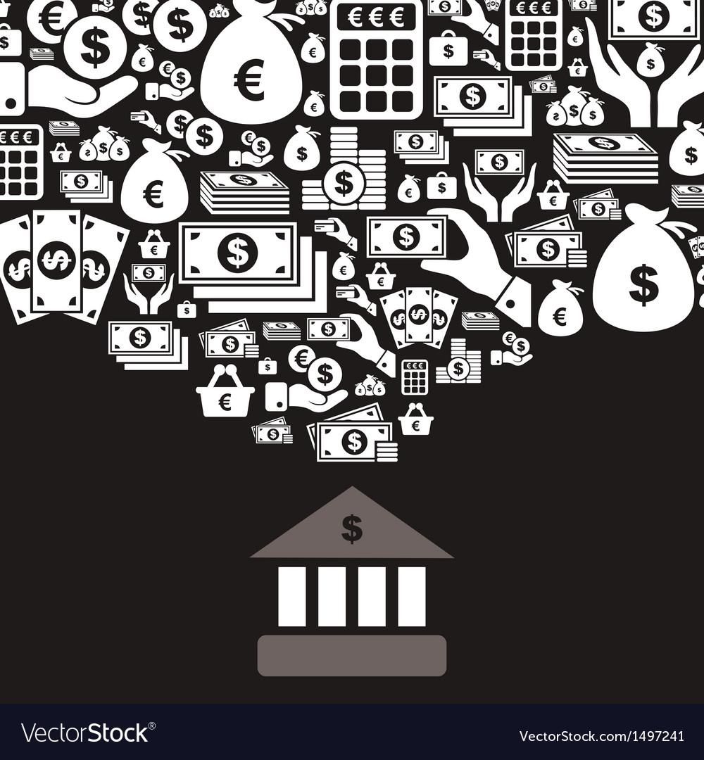 Bank vector | Price: 1 Credit (USD $1)