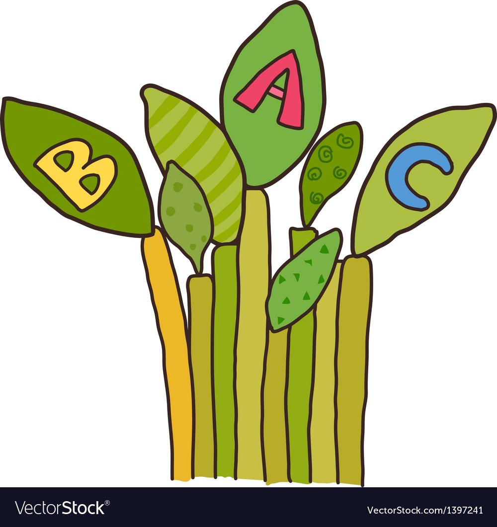 Icon plant vector | Price: 1 Credit (USD $1)