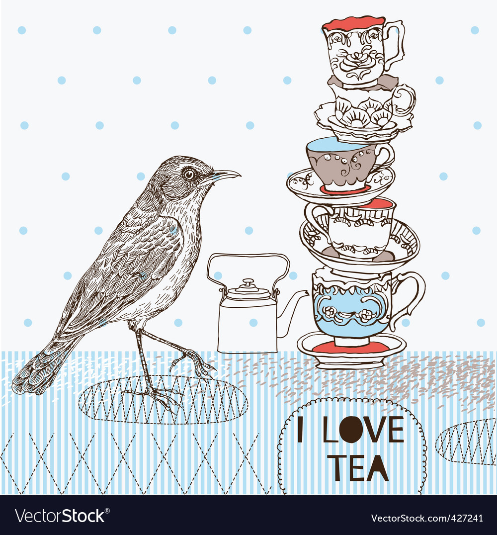 Tea 7 vector | Price: 1 Credit (USD $1)