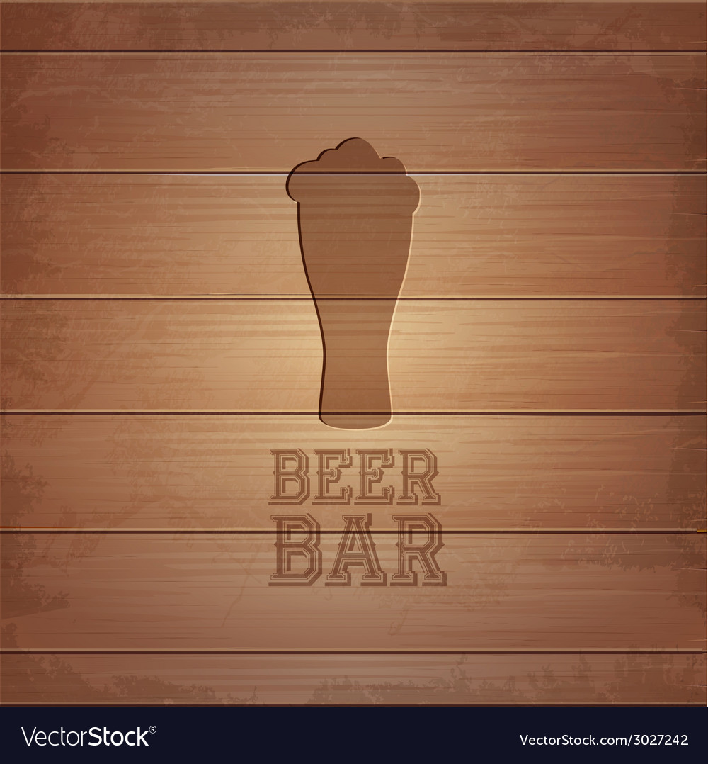 Beer octoberfest poster vector | Price: 1 Credit (USD $1)