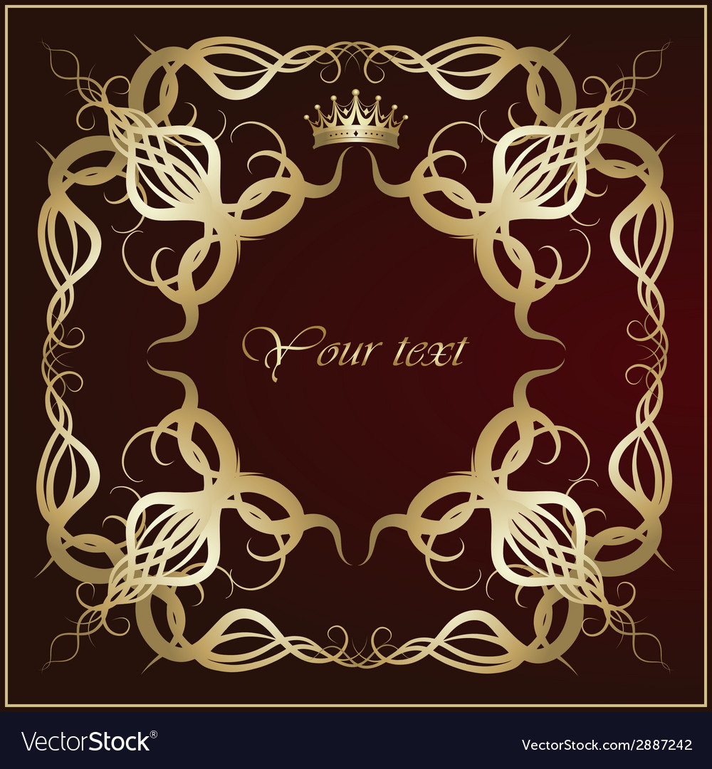 Damask ornaments vector | Price: 1 Credit (USD $1)
