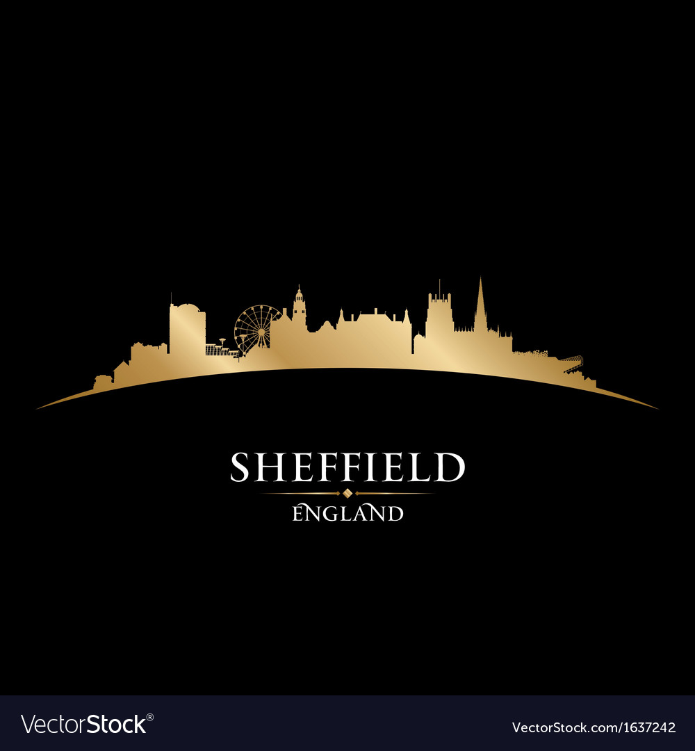 Sheffield england city skyline silhouette vector | Price: 1 Credit (USD $1)