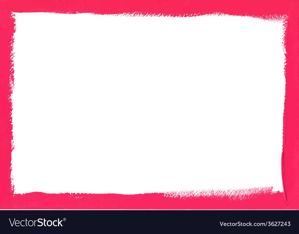 Pink grunge frame vector | Price: 1 Credit (USD $1)