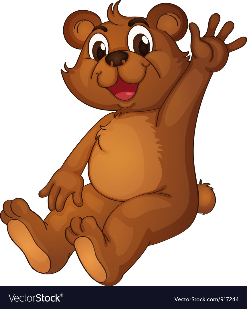Animated bear vector | Price: 3 Credit (USD $3)