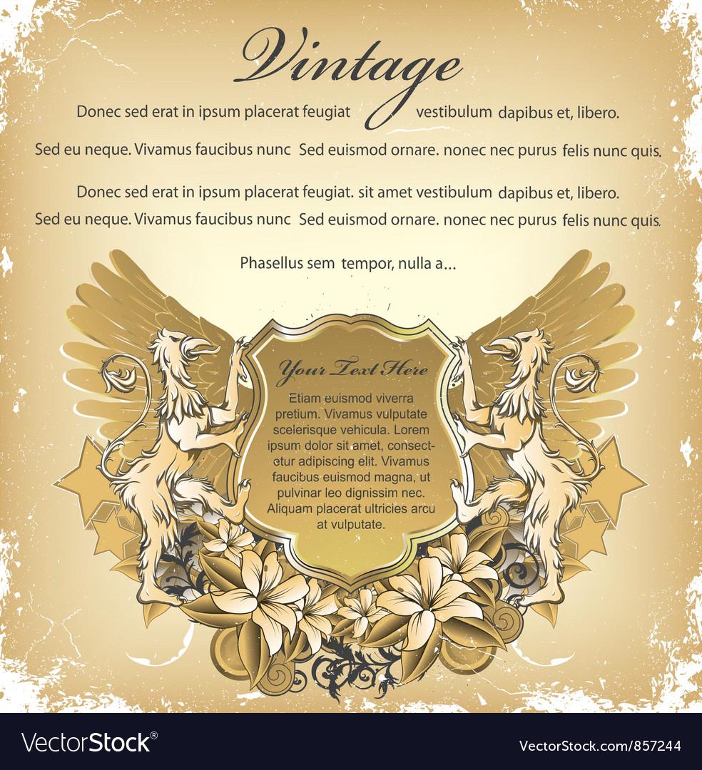 Grunge emblem vector | Price: 1 Credit (USD $1)