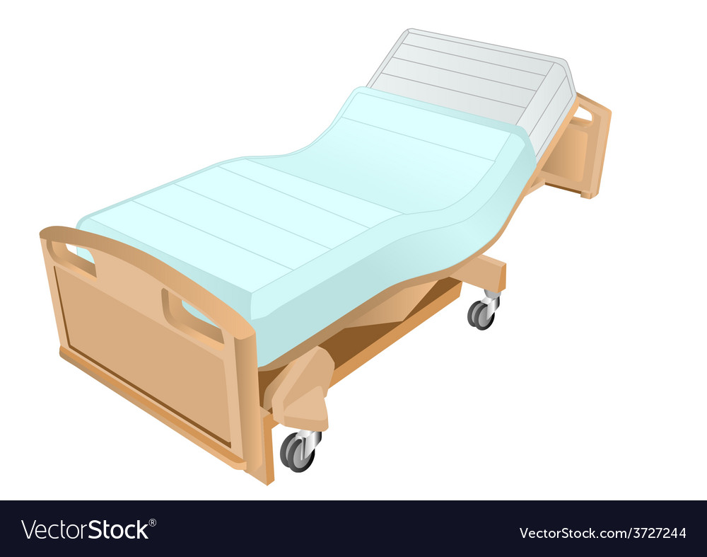 Hospital bed vector | Price: 1 Credit (USD $1)